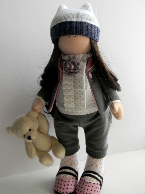 Тильда выкройка куклы маленькие