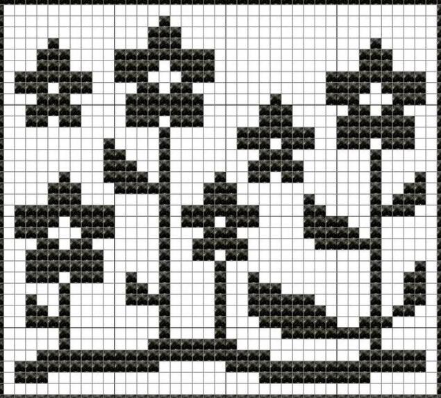 узор. вязание спицами