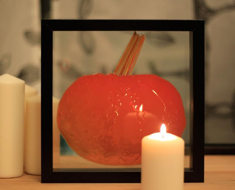 halloween, подарок, тыква, картина, украшаем дом