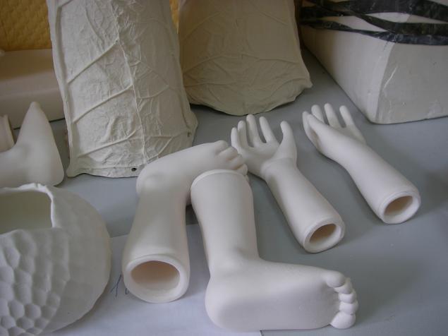 фарфор, приготовление шликера, декорирование фарфора