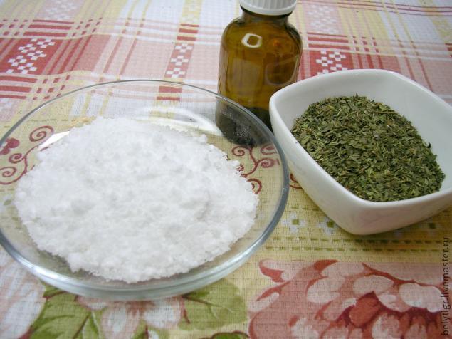 Мятная соль для ножных ванн, фото № 1