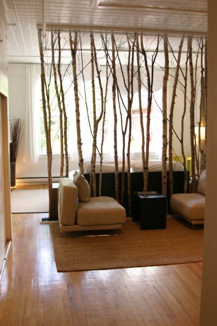 Декоративная перегородка для зонирования комнаты своими руками