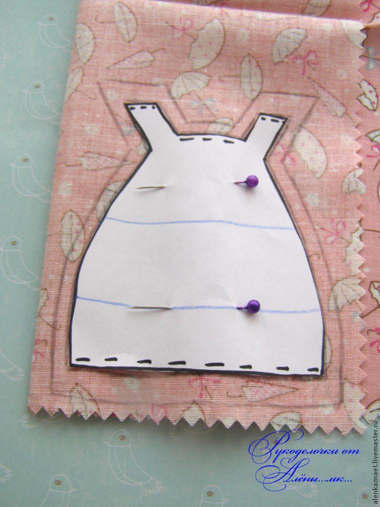 Мастерим куклу-подвеску «Бабочка» по мотивам Лалалупси, фото № 16