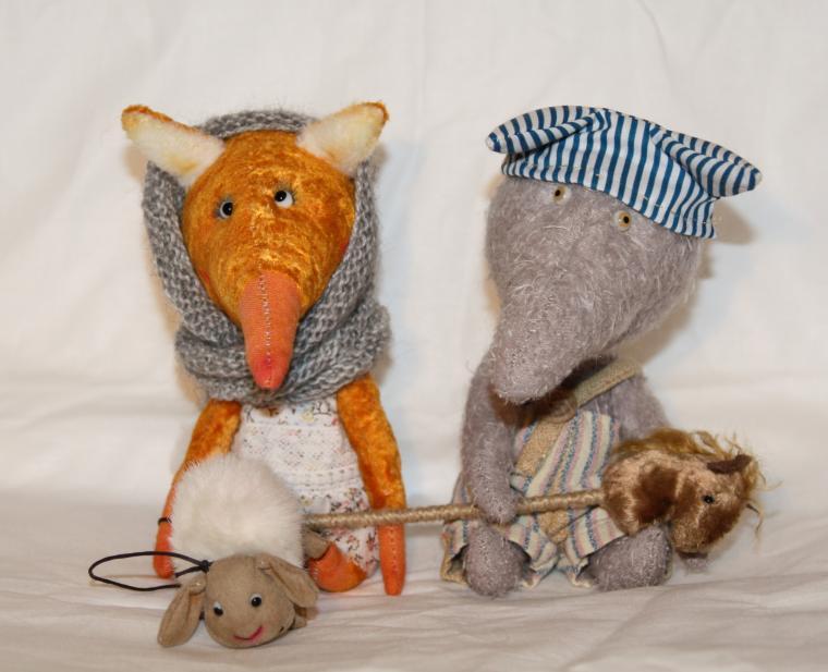 лисичка, авторская лиса