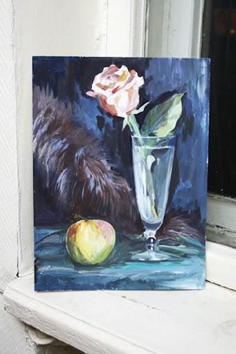 оксана санжарова, рисование, живопись