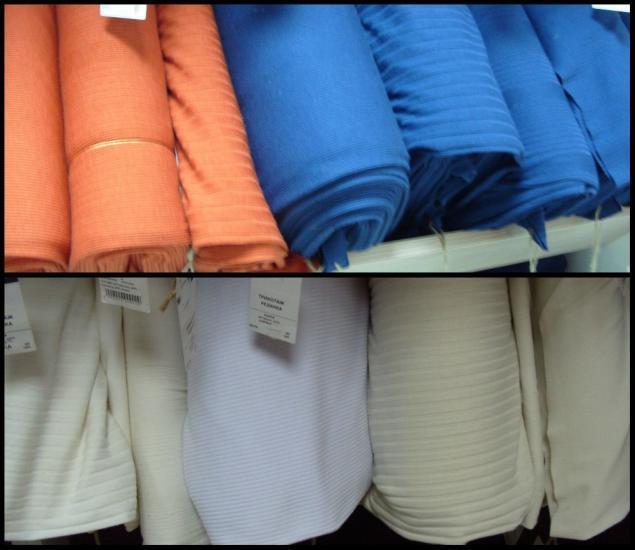 ткани, пошив одежды