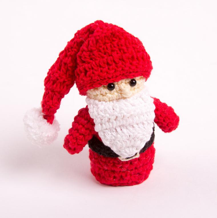 подарки к новому году мк по вязанию крючком игрушки на ёлку дед