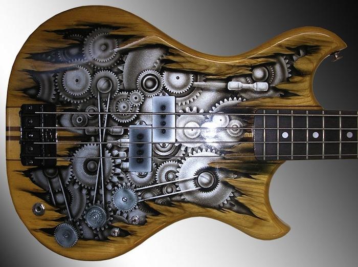расписные гитары