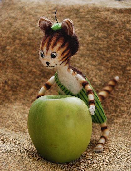 хэндмэйд куклы кот