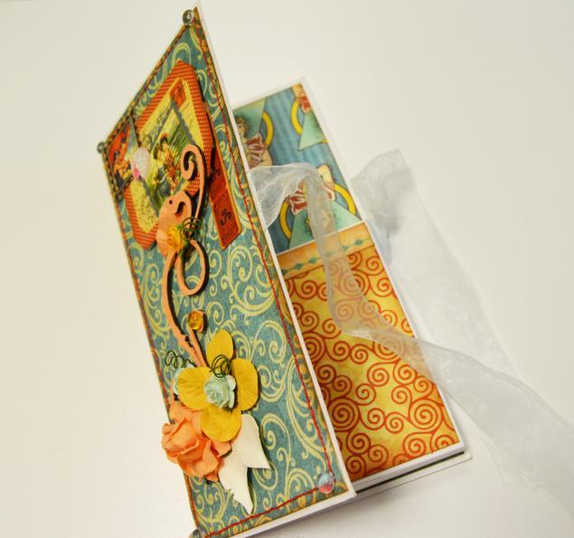 Мастер-класс шоколадница открытка
