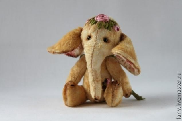 слоненок, слоны, выкройка слона