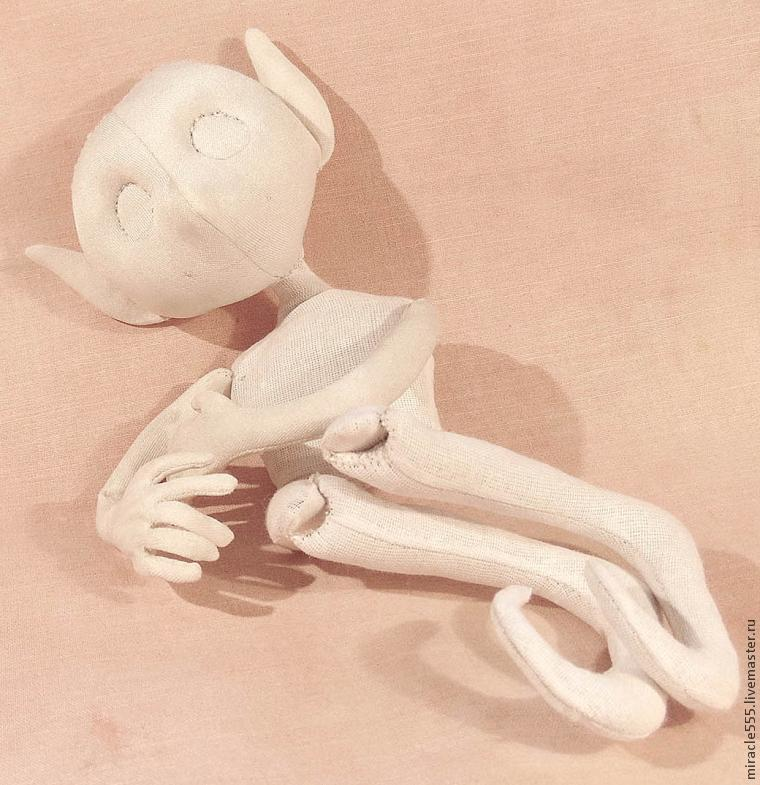 грунтованная кукла