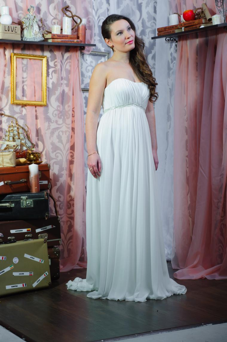 греческое платье, ампир, свадебное платье, свадьба 2014, свадьба на берегу, платье на заказ, шифон, лето