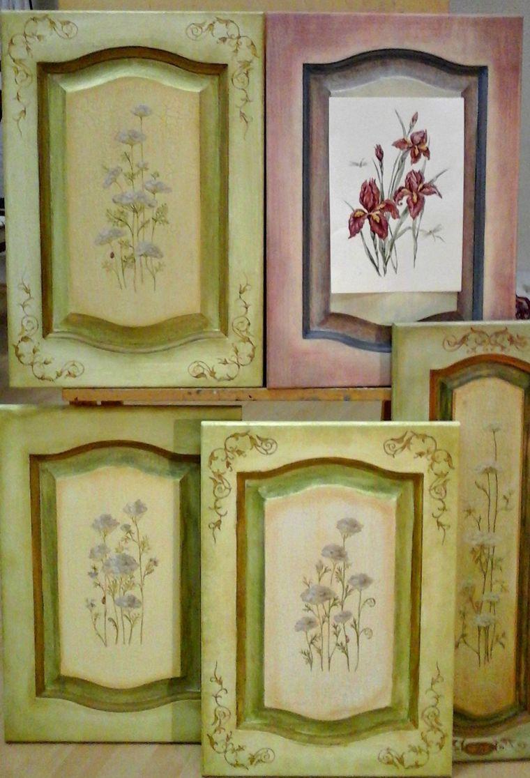 живопись, обучение росписи мебели