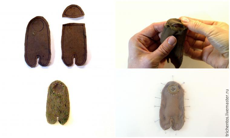 Создаем карманную обезьянку Мими, фото № 2