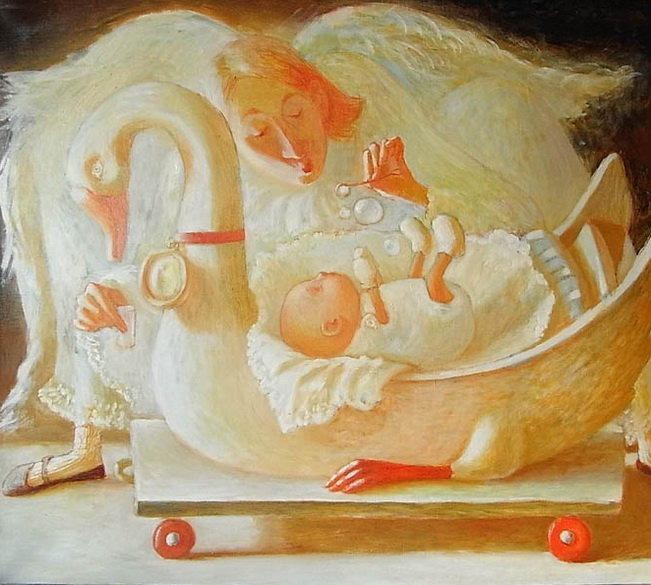 Путешествие в детство с белорусской художницей Анной Королёвой, фото № 18