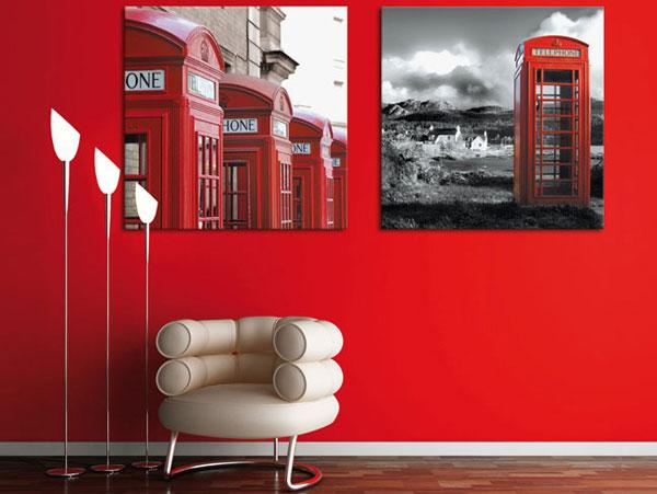 Дизайн комнаты в стиле лондон