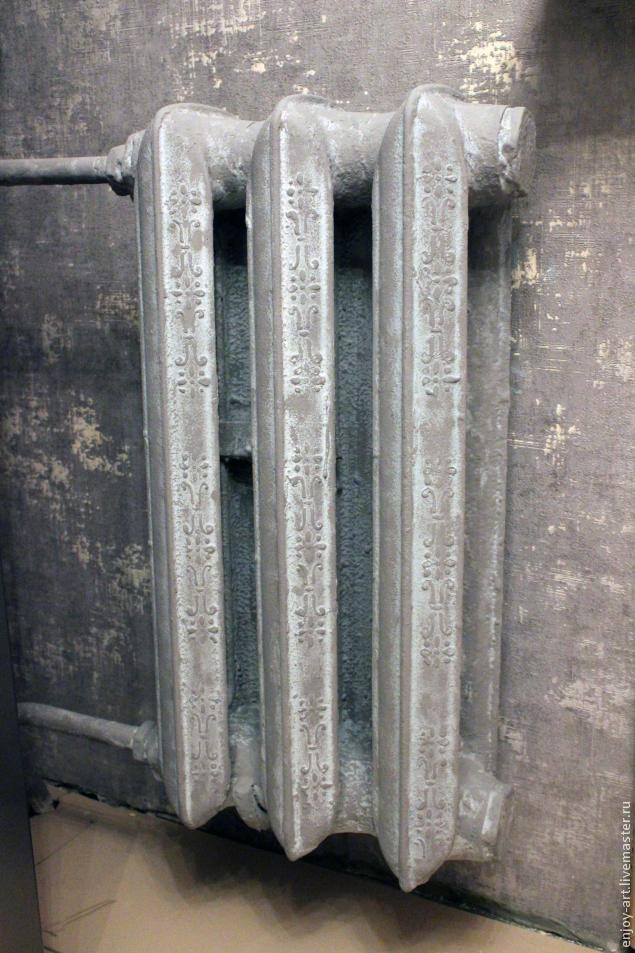 декор радиатора, оформление интерьера