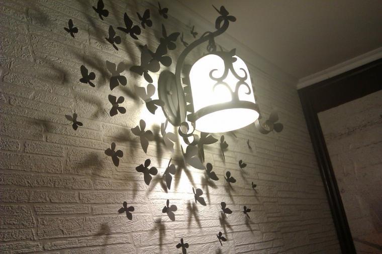 Бабочки как элемент дизайна интерьера, фото № 10