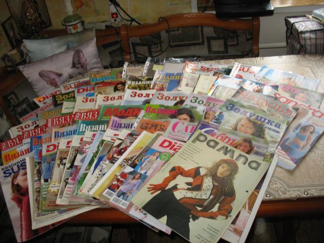 журналы, журналы по вязанию, даром, журналы даром
