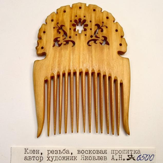 расчески деревянные
