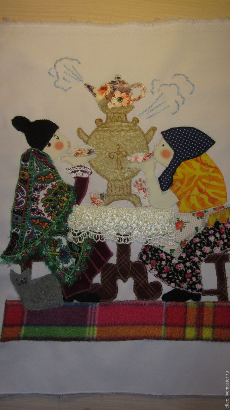 Текстильное панно мастер класс59