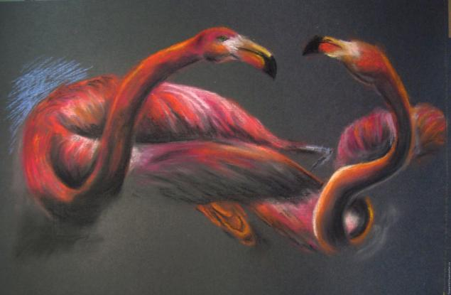 живопись пастелью: