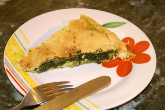 Пирог с овечьим сыром и шпинатом, фото № 5