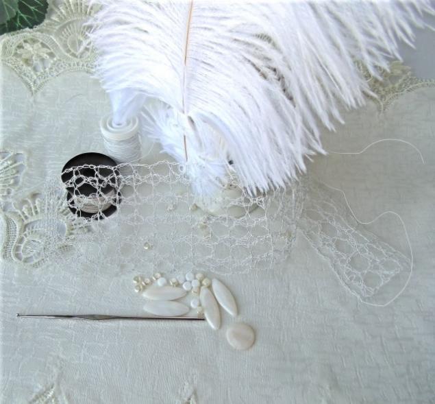 украшения, вязание крючком