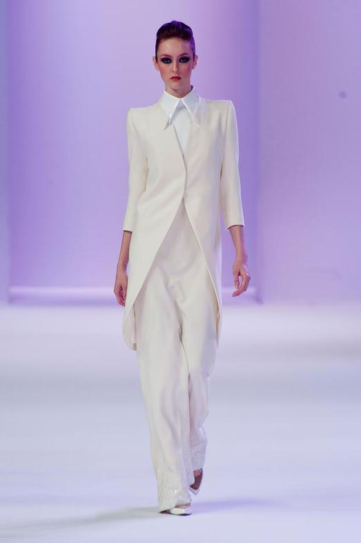 Stephane Rolland Haute Couture весна-лето 2014, фото № 17