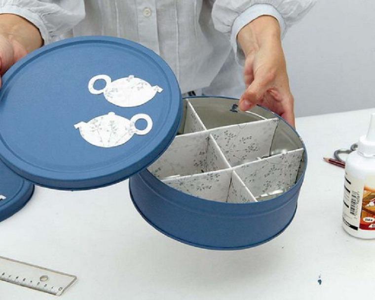 Идеи своими руками для хранения чайных пакетиков