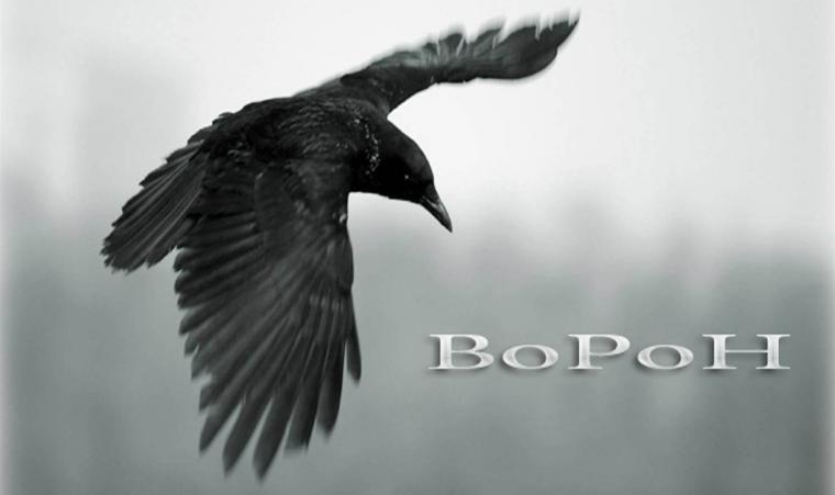 Поздравление ураза, картинка ворона с надписью