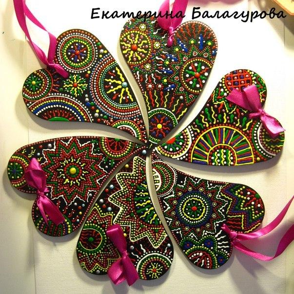 handmade, подарок своими руками, декорирование, декоративная роспись
