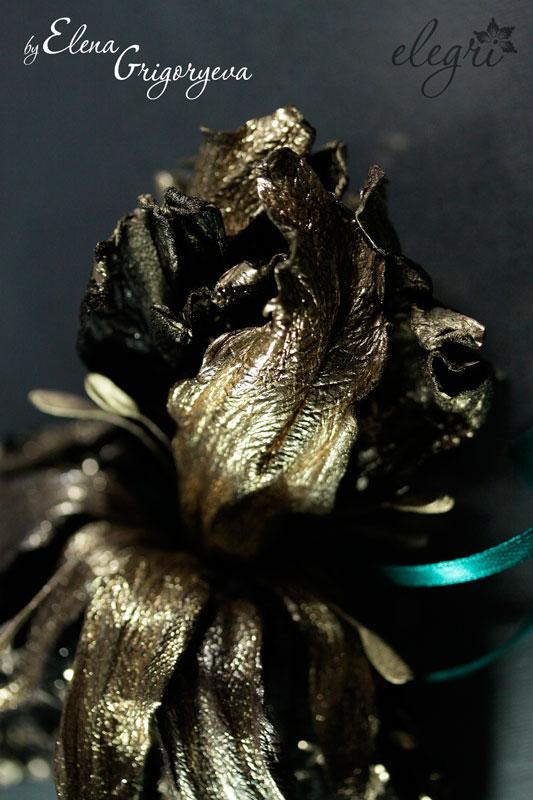 золотой ирис, елена григорьева цветы