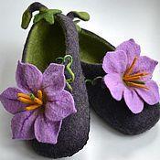 обучение валянию, мокрое валяние, обувь ручной работы
