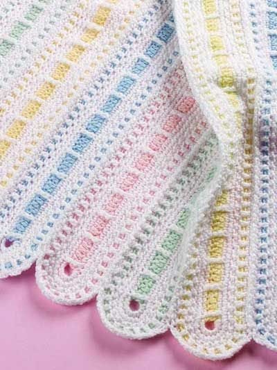 On Parade Baby Afghan