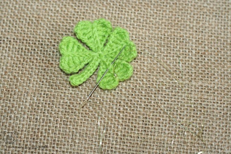 Crochetting a Four Leaf Clover, фото № 21