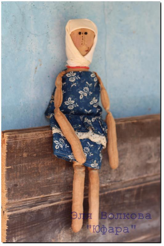 сувенир, ароматизированная кукла, ваниль, состаренная