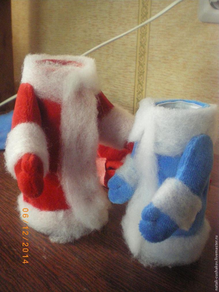 Снегурочка из носка своими руками