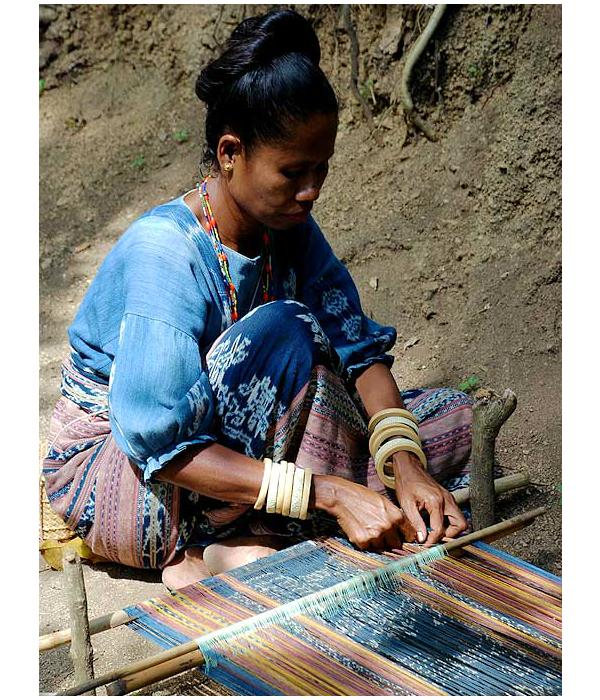традиционное ткачество