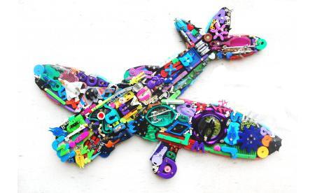 Игрушки из старых игрушек от Robert Bradford, фото № 10