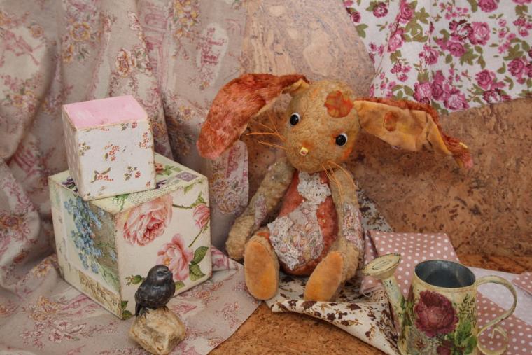 розыгрыш приза, конкурс коллекций, авторские мишки тедди, кролик