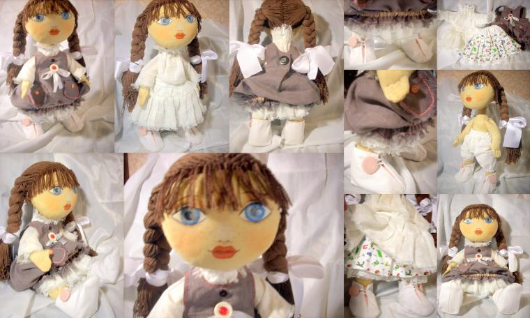 игрушка ручной работы, кукла ручной работы, подарок, куклы и игрушки