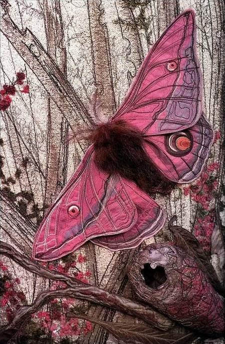 Текстильные шедевры, или Бабочки как источник вдохновения, фото № 7