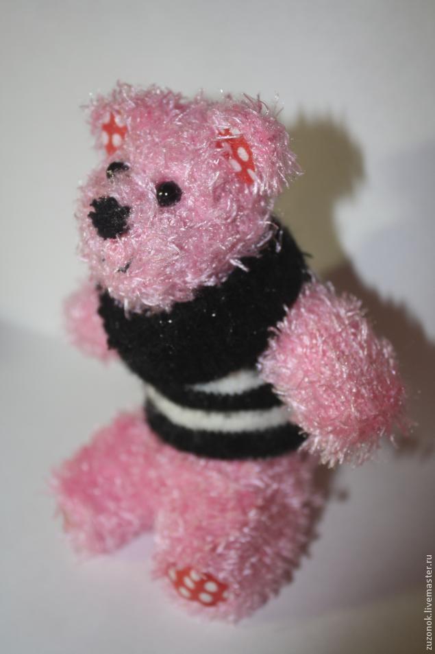 Робимо ведмедика з рукавички
