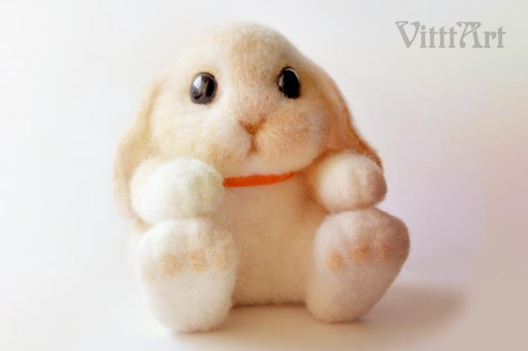 игрушка, заяц