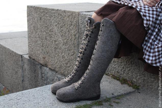 мк в минске, валяная обувь