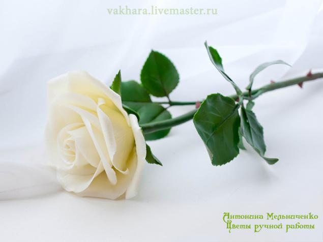 акция магазина, цветы из полимерной глины