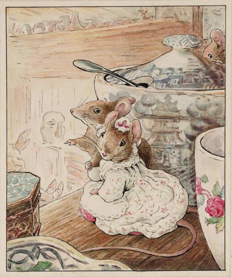 Интересные факты о Беатрис Поттер и ее знаменитых кроликах, фото № 2