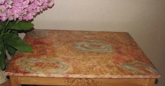 имитация мрамора, роспись мебели, декорирование поверхности, творческий досуг